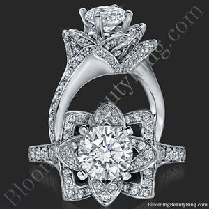 Unique Engagement Rings By Blooming Beauty