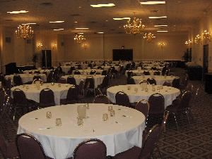 Regency Ballroom, Ramada Lansing Hotel And Conference Center, Lansing — 5000 Square Feet, 550 Theatre, 350 Classroom, 420 Rounds
