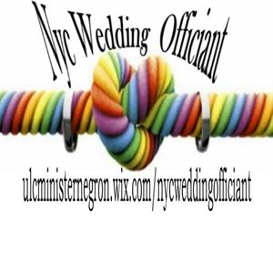 Fantasy NYC wedding officiant
