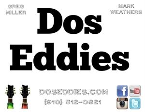 Dos Eddies - Acoustic Guitar / Vocal Duo - Georgetown