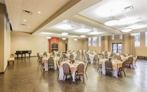 Kathleen Price Bryan  Banquet Hall and Terrace