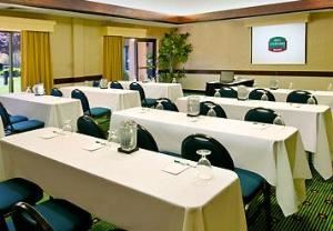 Sunset Room, Courtyard Las Vegas Summerlin, Las Vegas — Whether you're planning a wedding, seminar or meeting, we can help make your event a success, with meeting space totaling 1,003 square feet, providing space for up to 45 people. We offer everything you need, including high-speed Internet access, copy service, audiovisual equipment, overnight delivery and much more. Our professional staff is waiting to help, and we can also cater your event, from the largest banquet to the smallest coffee break.
