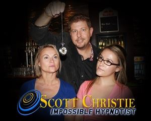 COMEDY HYPNOTIST SCOTT CHRISTIE