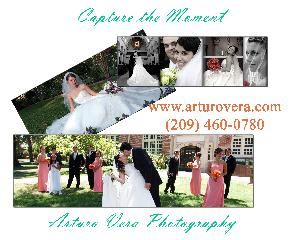 "Arturo Vera Photography, Stockton — When looking for your wedding photographer or videographer, you need someone who is experienced, someone who will be fun and who will try different and creative styles.  You need someone who does not cause you to feel awkward, posed or stiff.  This is called ""freestyle"" shooting,   I will preserve the joy of your wedding day in a way that you can not put a price restriction. Armed with a Bachelor's degree and a Cindy Award in Technical Excellence, I will bring opulence and professionalism to your wedding."