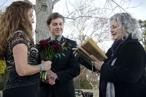Mary Lee, Wedding Officiant