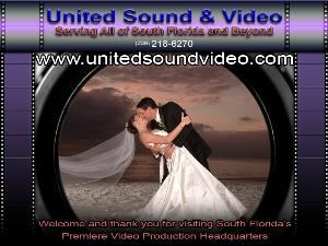 United Sound &amp; Video, Fort Myers  We are the affordable Wedding Video Professionals and Video Production Specialists serving all of SW Florida and beyond.  Please call 239.218.6270 or visit our website at www.unitedsoundvideo.com.  Thank you for your consideration.
