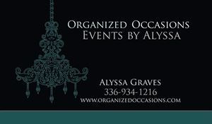 Organized Occasions Events by Alyssa