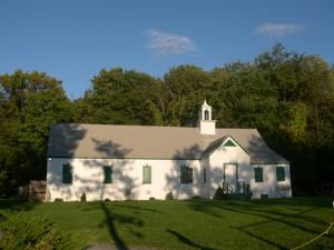 Recreation Hall, Camp Scully, Wynantskill — Dance, meeting, wedding. This beautiful old chapel can accomodate a variety of uses.