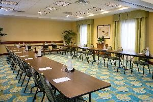 Colonial Room, Hampton Inn & Suites Fort Myers-Colonial Boulevard, Fort Myers — U-Shape setup