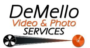 DeMello Video & Photo Services, Stockton — Logo