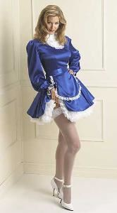 Demurely Yours, Washington — A Sissy Waitress to serve at ladies events and fashion shows.