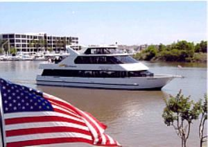 Majestic Ventures Yacht Charters, League City — Located at the South Shore Habor Hotel in League City, the Royal Princess cruises Clear Lake, Kemah & Galveston Bay.