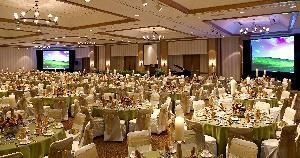 Plaza Ballroom, Sheraton Indianapolis Hotel & Suites, Indianapolis — An Elegant Dinner Party