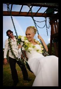 Noah Hamilton Photography, Hanalei — Kit and Rebecca enjoying their wedding day bliss.