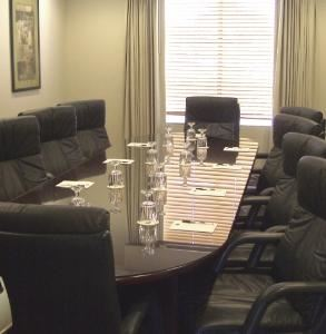 Executive Board Room, Wingate by Wyndham Tampa near USF, Tampa — Standard Boardroom Set