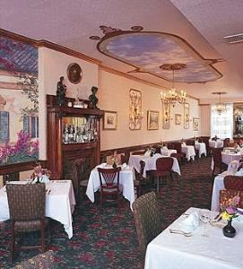 Banquet Room, La Famiglia Ristorante, Philadelphia — The La Famiglia banquet room can transform any celebration into an elevated experience with a setting as remarkable as the cuisine.