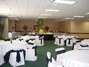 Gibson Commons Conference Center and Gardens, Lexington — Wedding Reception example