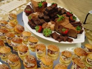 Warehouse Gourmet & Catering Company, Hanover — Chocolate Lover's Dessert Bite Tray