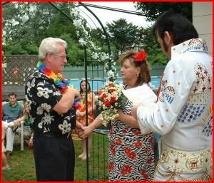 Wedding Ceremonies by Elvis