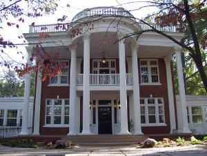Grand Southern Events, Villa Rica — Envision your event at this magnificent Greek revival, fully restored Southern Plantation-style home. Sitting atop 3 beautifully wooded acres, Grand Southern Events at The Powell house is equipped to make your event effortless.
