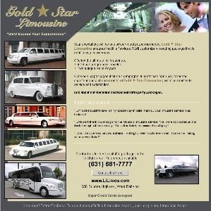 Gold Star Limousine, West Islip