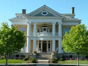 Cartier Mansion B & B, Ludington — Experience the historic elegance of Cartier Mansion.  Built in 1905 this neoclassical mansion is furnished with exquisite woodwork and antiques.  Walk to Lake Michigan beaches, restaurants, shops, marinas, and car-ferry.  Spacious common areas, wireless internet, 300 plus thread count sheets, down comforters and chocolates make your stay a memorable experience.