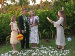 Sunset Hawaii Weddings