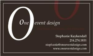 One Event Design