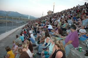 Grandstands, Stateline Stadium Speedway, Post Falls