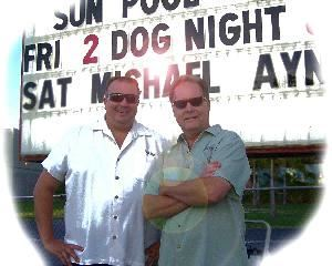 2 Dog Night - Classic Live Music, Seminole  2 Dog Night - Classic Live Music from the 50&#39;s to today! From Sinatra to Bob Seger - The Mambo to the Twist. Great music for all ages....Rock, R&amp;B, Pop &amp; Country. Parties, wedding receptions, corporate functions, any event! Serving the Tampa Bay area.