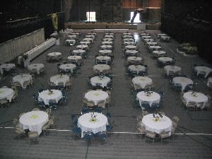 Wedding Reception Area, Long Lines Family Recreation Center, Sioux City — Weddings large and small, we can host them all