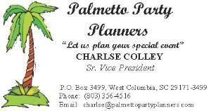 Palmetto Party Planners, West Columbia