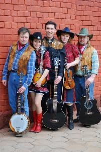 Country Saloon bluegrass band