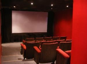 Santa Monica Screening Room, Santa Monica — A new 28-seat mini-theater with comfortable, fixed, movie