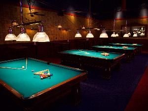 Executive Billiards Room, Dave & Buster's Dallas, Dallas