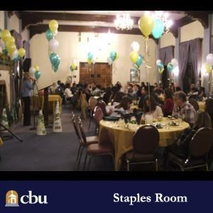 A J  Staples Room, California Baptist University, Riverside