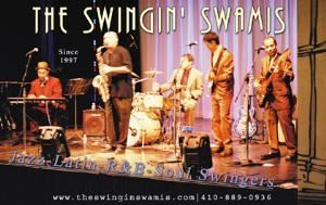The Swingin' Swamis, Baltimore — Live at The Kennedy Center, Millennium Stage, Washington, DC.