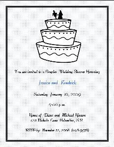 Daveeda-Designs, Columbia  Wedding Shower Invitations for Couples.