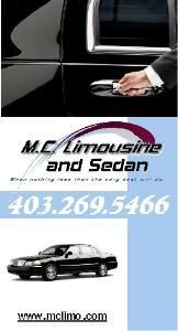 M C Limousine And Sedan