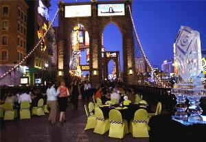Brooklyn Bridge @ NYNY Hotel/Casino, Ark Vegas, Las Vegas — BROOKLYN BRIDGE AT NEW YORK-NEW YORK HOTEL & CASINO