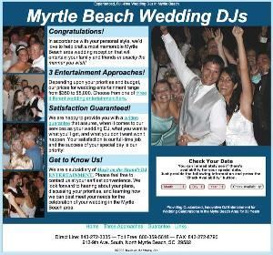 Myrtle Beach Wedding DJs, North Myrtle Beach — Depending upon your priorities and budget, our prices for wedding entertainment range from $350 to $5,000. Choose from one of three different wedding entertainment tiers.