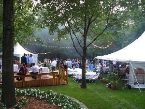 Taste! To Go Catering & Events, Des Moines — Beautiful outdoor wedding! We can cater your event anywhere. We have many different venues and tent styles avaiable.