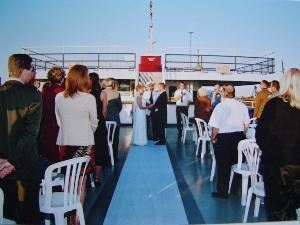 Private Charter, GOODTIME III, Cleveland — Have the Captain perform the Ceremony on the Third Deck