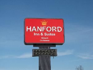 Hanford Inn, Urbana — Hanford Inn & Suites Outdoor Sign