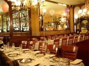 The Main Dining Room, The Broker Restaurant, Denver — This is an elegant choice for entertaining up to 130 people for dinner, or 200 people for cocktails...