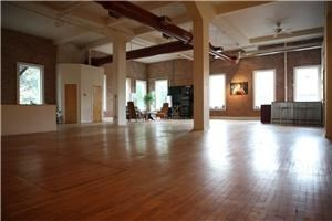 "studio b / the b gallery, Kansas City — photo studio b and the b gallery offers an eclectic, urban setting located in the heart of the Crossroad Art District.  The versatility of the venue includes a 2500 sq. ft studio and an adjacent 800 sq. ft art gallery featuring a revolution of artists.  It is the perfect creative inspired environment for your wedding reception or for your next ""off campus"" corporate event.  Reasonably priced, beautiful interior, and truly unique... please contact us for more information."