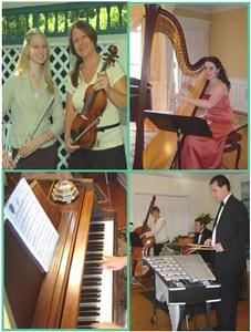 Grace Note Music Ensembles - Violin Duet Flute Cello Trumpet Organists Vocals & more!