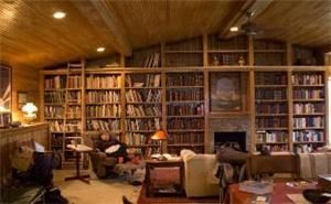 Library, Cherry Creek Inn, Cherry Creek