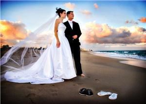 Diane Schafer Photography, Fort Lauderdale — Beautiful sunset wedding photography on Ft. Lauderdale's intercoastal.
