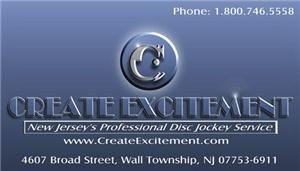 Create Excitement LLC, Professional DJs